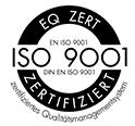 Prüfzeichen Ernst Wirth - ISO-Zertifikat