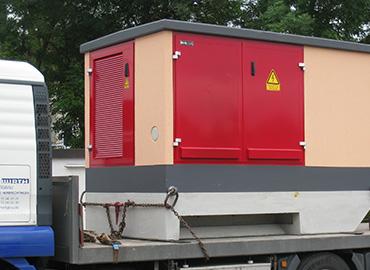 Kompakt-Trafostation W 2817 für STW Neunburg