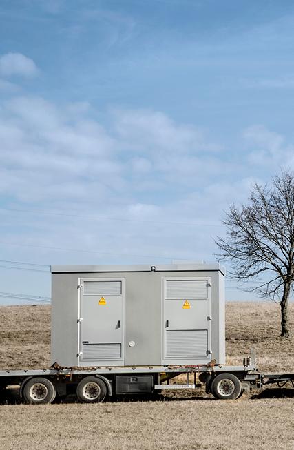 Maßarbeit für eine sichere Stromversorgung mit Trafostationen von Wirth