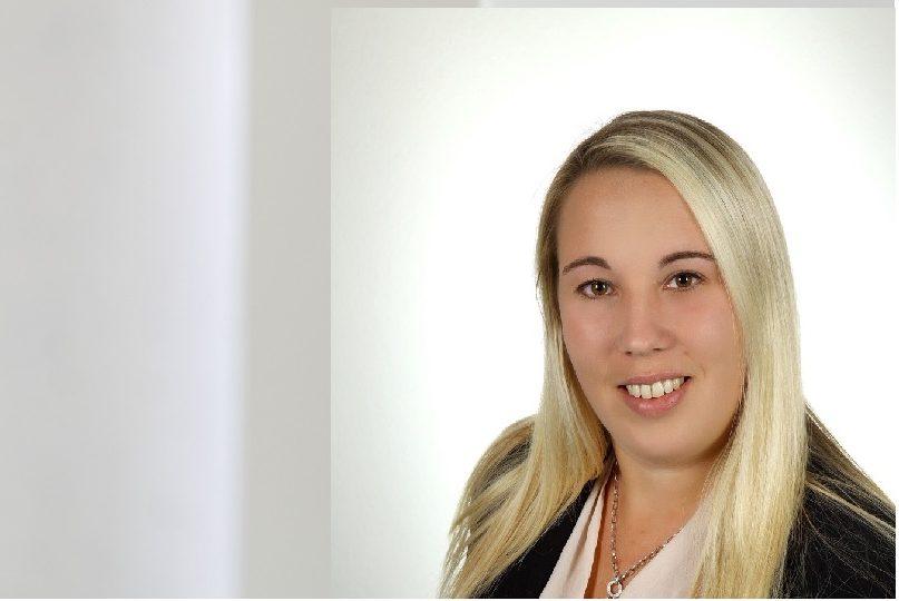 Nina Weishaupt, Ansprechpartnerin für technische Zeichnungen, Auftragsbearbeitung
